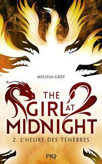 The girl at midnight, tome 2 L'heure des ténèbres de Melissa Grey
