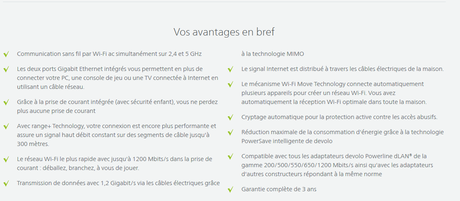 Test du kit 1200+ WiFi ac par devolo