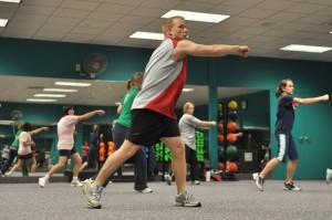 Cours collectif de fitness