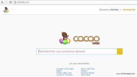 Cacaoweb: le paradis du streaming français