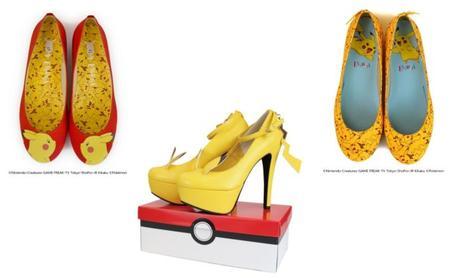 f9ac0b42875b5 Pikachu collection   les chaussures Pokémon très kawaï - À Lire