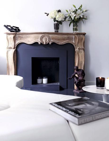 repeindre une chemin e en marbre en brique. Black Bedroom Furniture Sets. Home Design Ideas