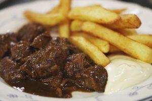 La nouvelle fiche de langue Den draed: Le restaurant