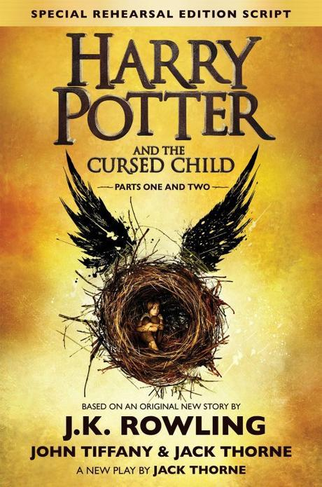 Harry Potter and the Cursed Child Special Rehearsal Edition Book Cover