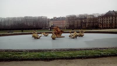Versailles, le jour de l'an