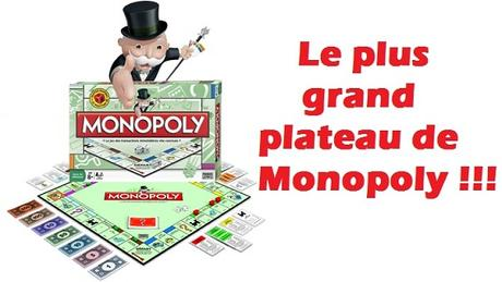 record plus grand plateau de monopoly du monde