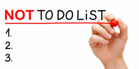 Bonnes Résolutions – Faire une Not To Do List !