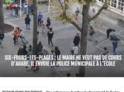 #PesteBrune l'école primaire Reynier Fours @JS_Vialatte (gravement) atteint #antifa