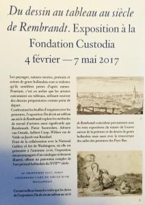 Fondation CUSTODIA  » La quête de la ligne » Trois siècles de dessins en Allemagne 4 Février 2017