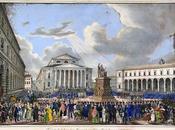 Inauguration Monument Maximilien Bavière Max-Joseph-Platz Munich 1835