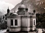Deux photos pavillon mauresque Linderhof dans leporello années