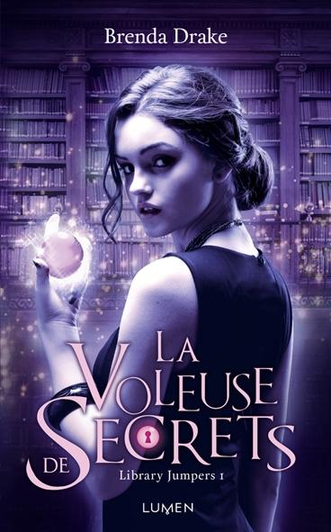 Couverture Library Jumpers, tome 1 : La Voleuse de secrets