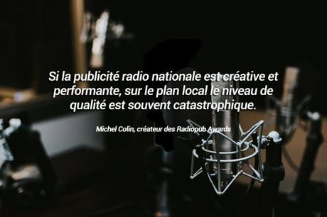 Interview de Michel Colin, créateur des Radiopub Awards