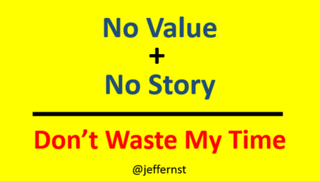 No value No story