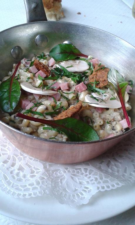 Coquillettes, jambon, champignons… © Gourmets&Co