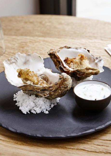 ISTR Plat Huîtres tempura