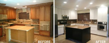 Kitchen Cabinet Resurfacing