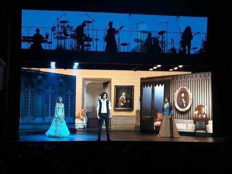 Opéra rock comédie musicale le rouge et le noir stendhal le Palace Côme