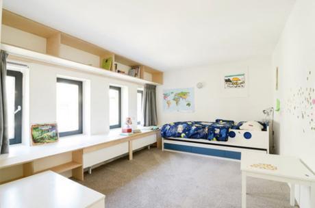 Une ancienne école transformée en loft à Amsterdam