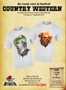 Collection de T-Shirts Country-Western