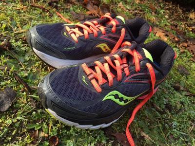 Saucony Ride 8 : mes chaussons de course !