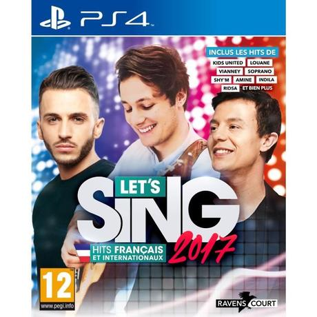 Let's Sing 2017 – le DLC Chart Hits est disponible