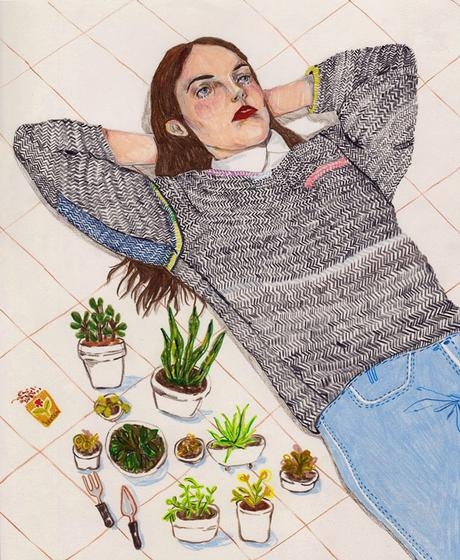 Illustrations and textiles by Caitlin Shearer