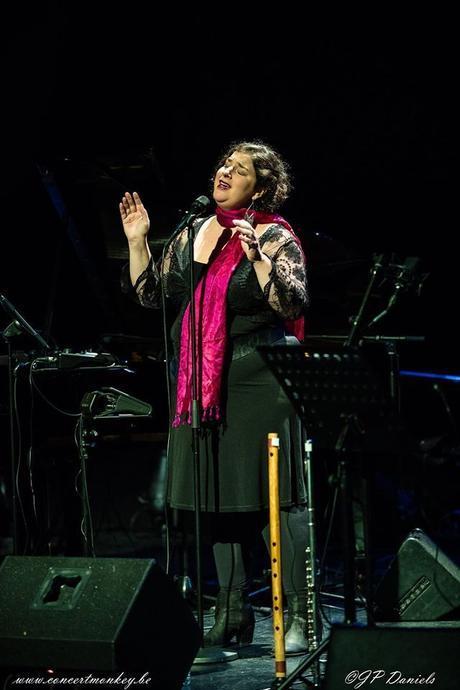 Barbara Wiernik et Nicola Andrioli au Théâtre Marni, Ixelles, le 17 janvier 2017.