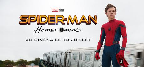 SPIDER-MAN : HOMECOMING Avec Tom Holland, Zendaya, Marisa Tomei, Robert Downey Jr., Michael Keaton le 12 Juillet au Cinéma  #SpiderManHomecoming