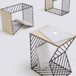 Bedside Table, la table de chevet de Fail Gilmanov