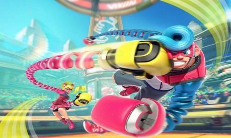 Focus sur «Arms», le jeu de boxe signé Nintendo