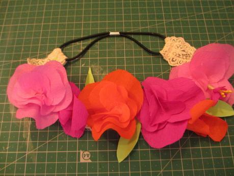 DIY #12 : un headband Frida Khalo