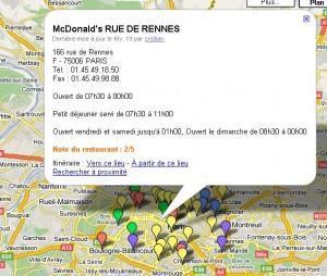 Cafards et Souris au McDonald's Rue de Rennes !