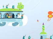 Stickers muraux Hohokum univers fantaisiste coloré issu PlayStation