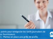 points pour renégocier tarifs journaliers fournisseurs