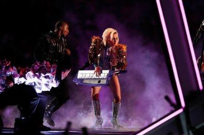 Lady Gaga au Superbowl