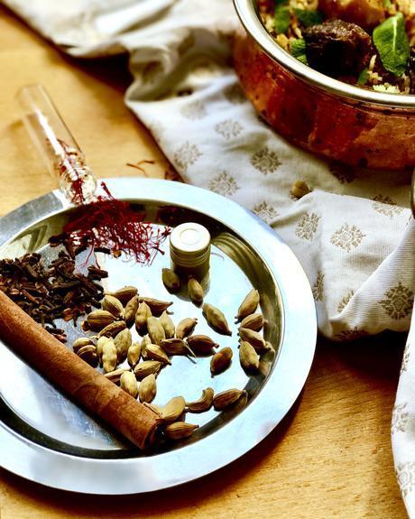 Briani de boeuf, spécialité de l'île Maurice «épicée» très appréciée en toute occasion !