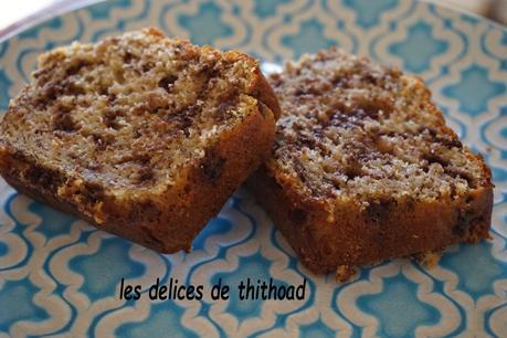 cake à la ricotta et aux pépites de chocolat