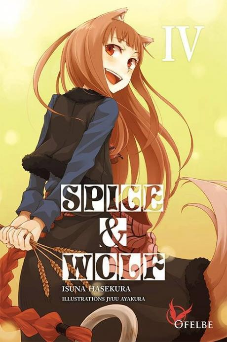 Couverture Spice & Wolf (roman), tome 4