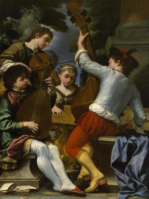 boncori-1675 musiciens Chrysler Museum of Art, Norfolk