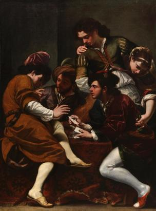 boncori-1675 joueurs cartes Chrysler Museum of Art, Norfolk