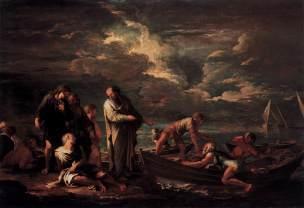 Rosa 1662 Pythagoras and the Fisherman Gemaldegalerie - Staatliche Museen zu Berlin
