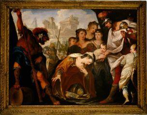 Bellucci The Family of Darius before Alexander 1681-1691vicence musee civique