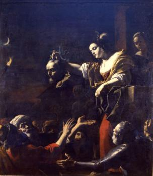 Preti 1651-1661 Judith montrant la tête d Holopherne Musee de Chambery
