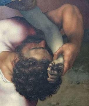 David_and_Goliath_by_Daniele_da_Volterra_(Louvre_INV_566)_recto_02_mainGoliath