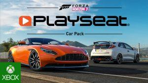 Forza Horizon 3 dévoile le Playseat Car Pack