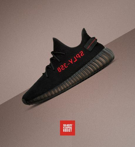 2 adidas Yeezy Boost 350 V2 Core Black à gagner