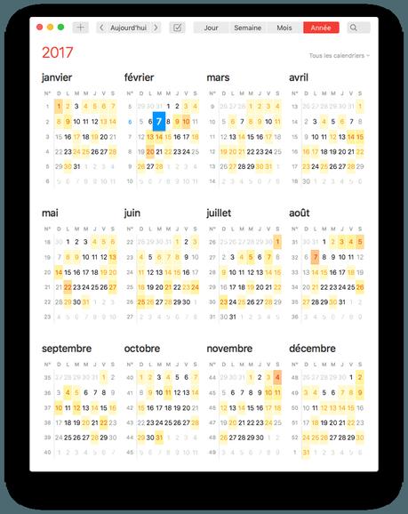 Astuces Fantastical 2: les jeux de calendriers