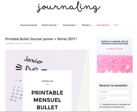 Bullet Journal : trouver l'inspiration sur les blogs ?