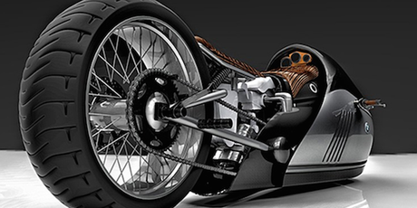 MOTOR : K75 ALPHA concept motorcycle
